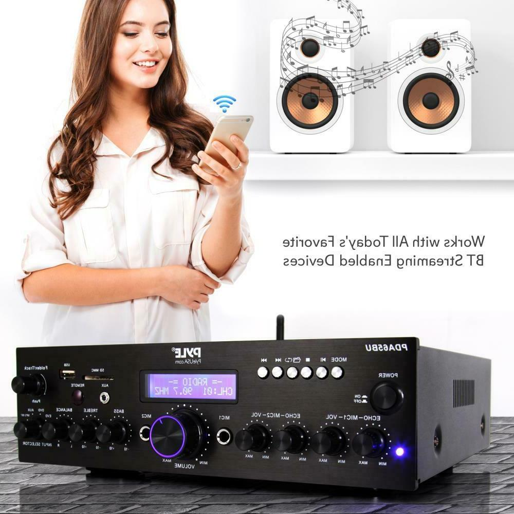 200W HOME THEATER STEREO DIGITAL AUDIO AMP