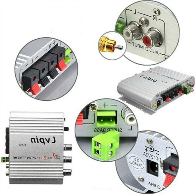 200W 12V Hi-Fi MP3 Player FM