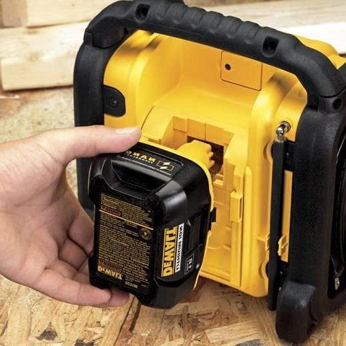 DEWALT Radio, Black,10.10in. x