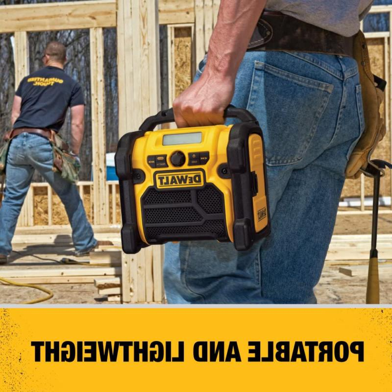 DEWALT Radio, ,Yellow & Black,10.10in. x