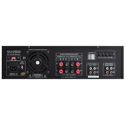 New Digital Theater Stereo Receiver Mic Inputs