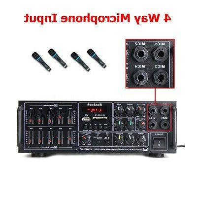 Sunbuck Power Amplifier AMP EQ Home Stereo SD