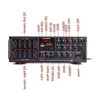 Sunbuck 325BT Power AMP EQ Stereo SD