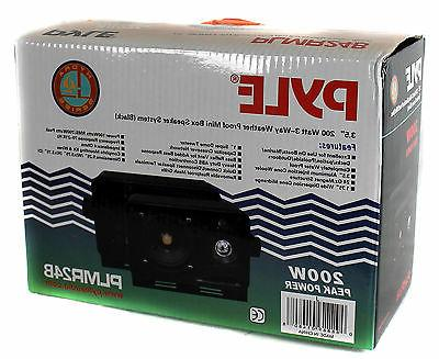 4) Pyle PLMR24B 200W Box + PT260A Receiver