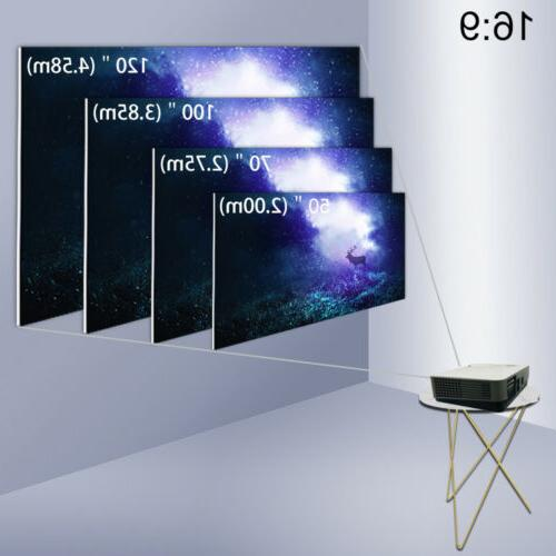 4000 Projector HD Support LED Video Projector
