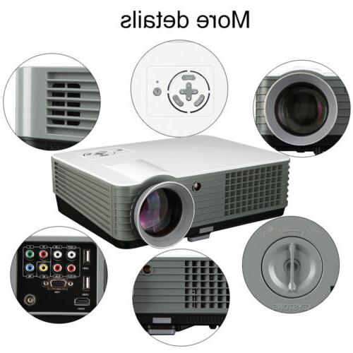 4000 Lumen Projector HDMI 1080P Full HD Support LED Video Projector