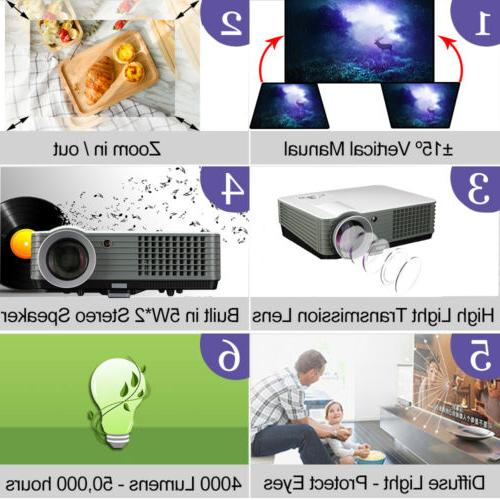 4000 Projector Full HD Support Projector