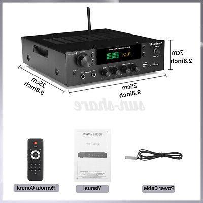 4000W Power Amplifier Audio SD
