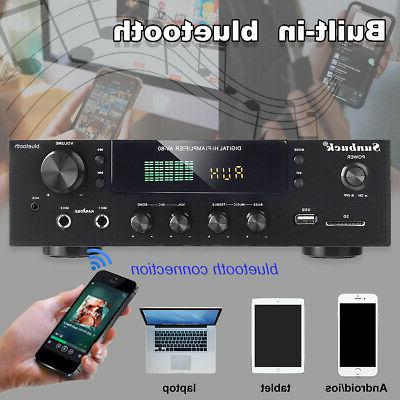 4000W Power Stereo Audio 2 Channel SD