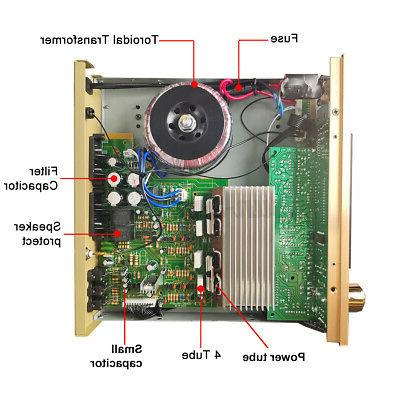 4000W HiFi 5.0 Power Stereo Home Audio SD