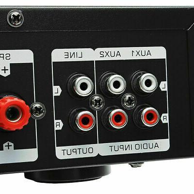 2000Watts 5 Bluetooth 4.0 Home Stereo Amplifier HiFi Amp SD