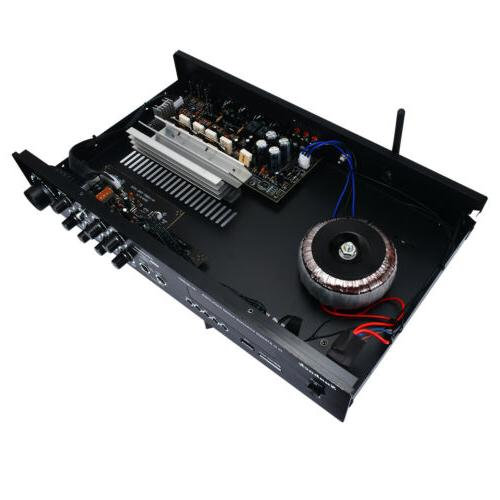 2000Watts 4.0 Home Power Amplifier Amp SD