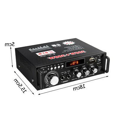 600W Home bluetooth 5.0 Amplifier Audio c