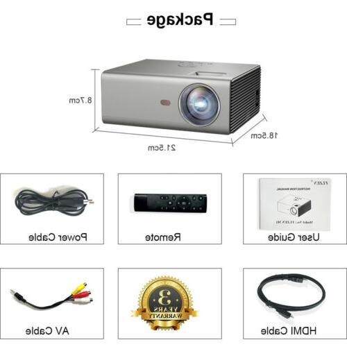 720P Home Projector Lumen 1080p