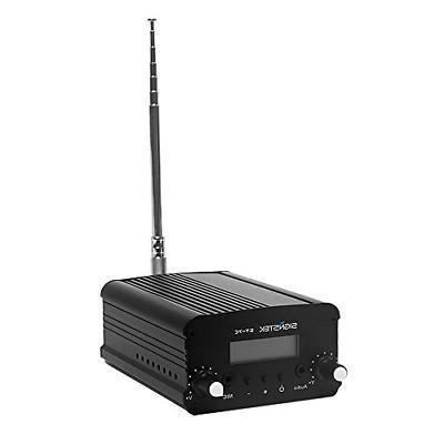Signstek 7W 7C FM Transmitter Mini Radio Stereo Station PLL