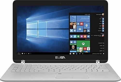 ASUS 2-in-1 Touch-Screen Laptop  - Sandblasted Aluminum, 15.