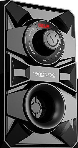 Boytone Powered Speaker - Black