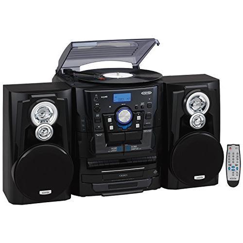 Jensen Stereo Turntable CD Changer with Cassette