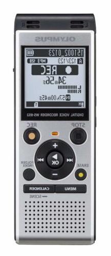 Olympus Digital Voice Recorder WS-852, Silver