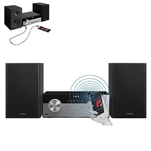 Sony All Stylish Micro System with Streaming NFC , CD player AM/FM tuner + + Auxiliary Cable + Cloth