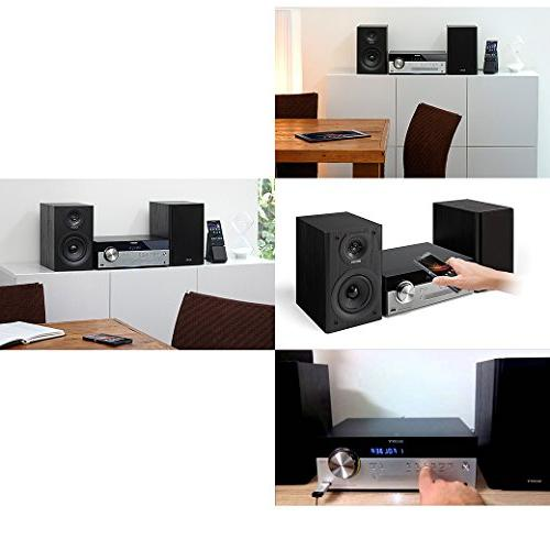 Sony All Stylish Micro System with NFC USB, CD player & AM/FM tuner + Auxiliary Cable Cloth