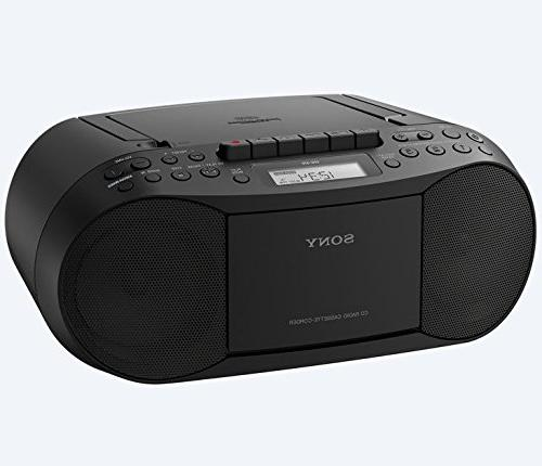 Sony Tuner AM/FM Radio, Headphone Output Auxiliary with Power Cord and Lens Cleaner