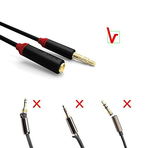 shengwei 3.5mm Auxiliary Cable, to Female Extension AUX for Headphone, Mp3 iPhone, iPad, Computer & Auxiliary Connector ,