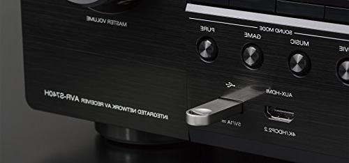 Denon Channel Ultra for Realism, Video, Dolby Sound , Alexa
