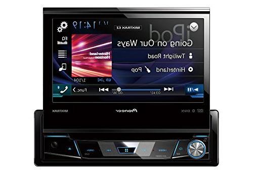 avh x7800bt 1din dvd receiver