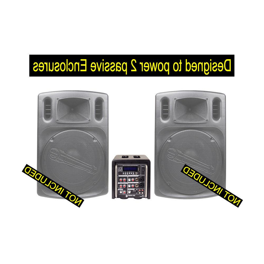 Audiopipe Bar Cube Amplifier Watts Bluetooth Mono Channel