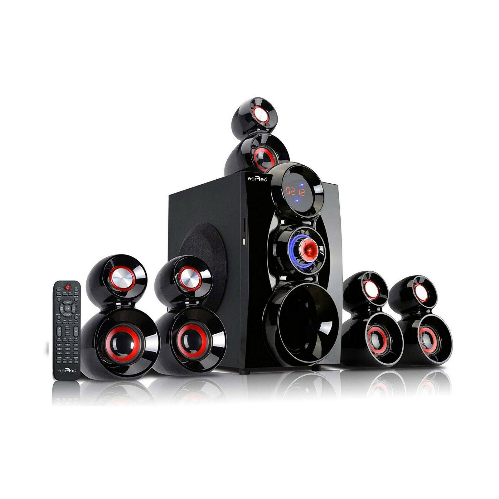 BEFREE BLUETOOTH 5.1 CHANNEL SURROUND SOUND SPEAKER SYSTEM R