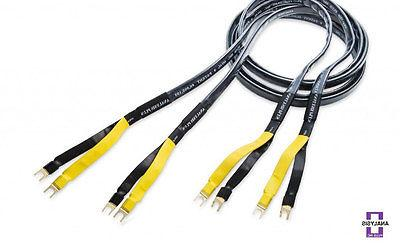 Analysis Plus Black Mesh Oval 9 Speaker Cable  8 ft.