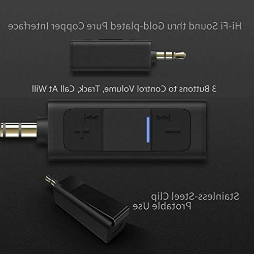 Bluetooth Aux Adapter, Bluetooth for Headphones, Wireless Bluetooth