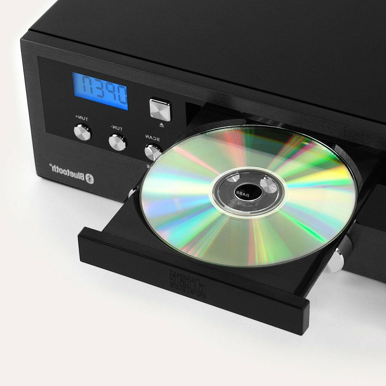 Bluetooth Home Classic Shelf Stereo System PLL FM Remote
