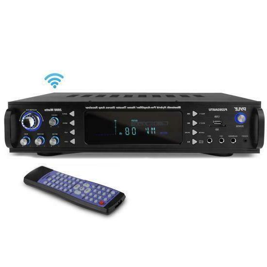bluetooth home power amplifier