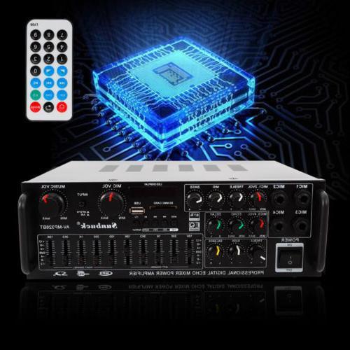 USB EQ Amplifiers home theatre bluetooth stereo usb karaoke