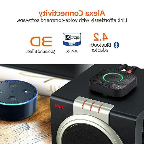 1Mii Receiver, Audio Adapter, with Low Music Streaming