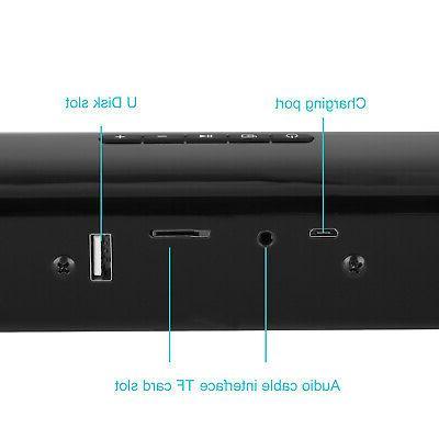 Bluetooth Sound Bar 3D Mic TV Samsung