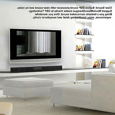 Bluetooth Sound 3D Mic Stereo TV Samsung Sony