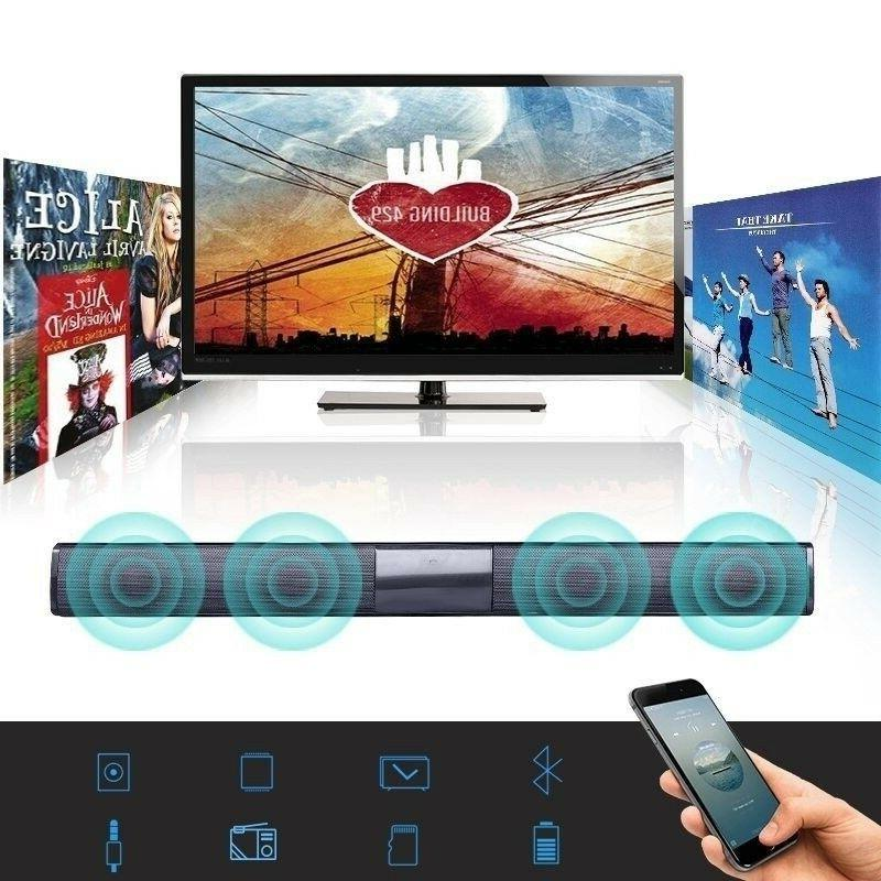 Bluetooth TV Speaker System