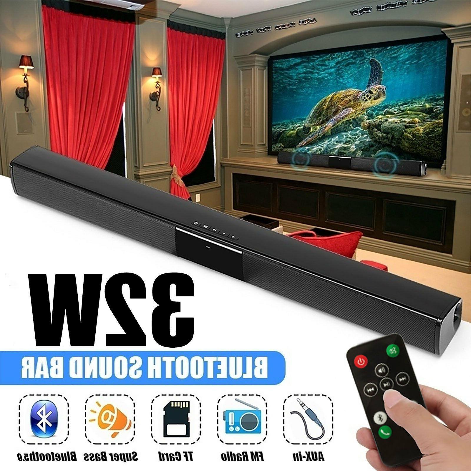 bluetooth sound bar stereo tv speaker home