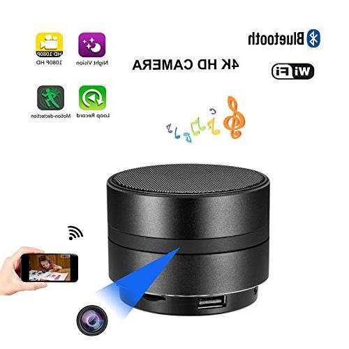 bluetooth speaker spy hidden wifi