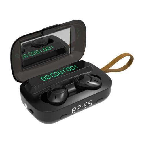 Bluetooth Wireless5.0 Mini TWS Earbuds Headphone Headset Home