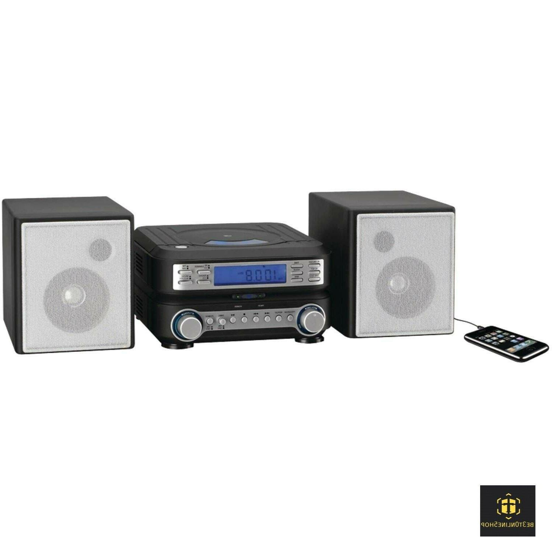 Bookshelf Player System Home AM FM Radio Shelf Compact Small