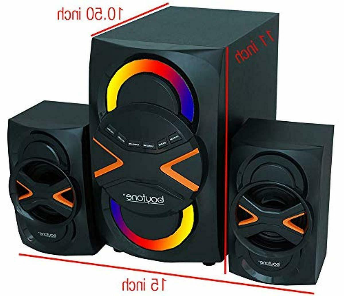 Boytone BT-326F 2.1 Bluetooth Powerful Home Theater Speaker