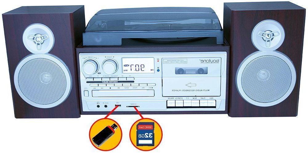 Turntable Cassette Silver Mah