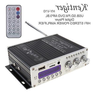 Digital Mini Bluetooth HiFi Stereo Amplifier Audio AMP For C