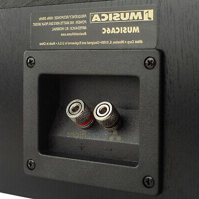 Dual Channel Speaker Stereo Audio MUSICA6C