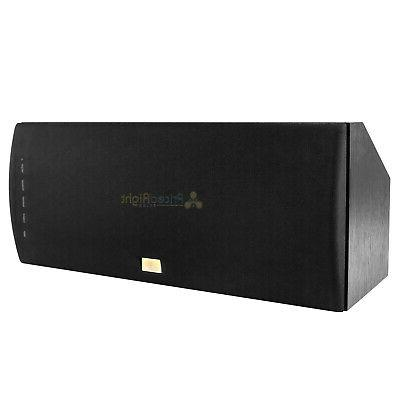 """Dual 6.5"""" Center Channel Theater Stereo Audio"""