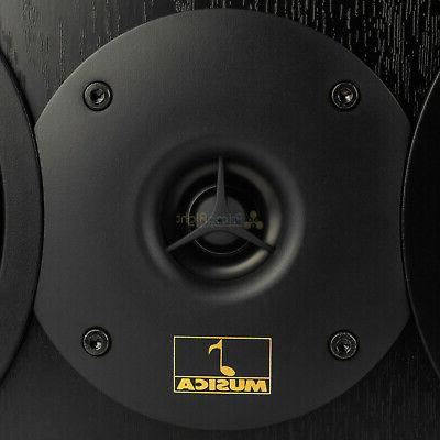"""Dual 6.5"""" Channel Home Speaker Stereo Audio MTX"""